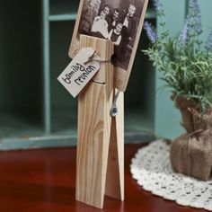 """Two Jumbo 12"""" Craft Clothespins"""