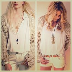 FREE PEOPLE Long Cardigan Knit NWT NWT AND SOLD OUT EVERYWHERE! Beautiful shrug  Free People Sweaters Cardigans