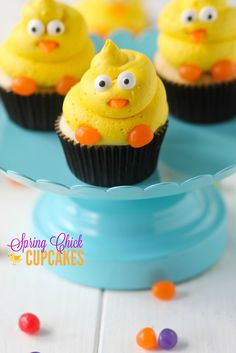 Spring Chick Cupcakes - Confessions of a Cookbook Queen