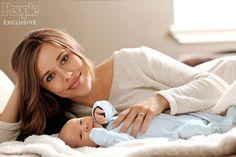 Jessa and newborn Henry Wilberforce Seewald.