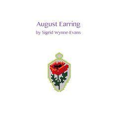 August Earring Pattern | Bead-Patterns
