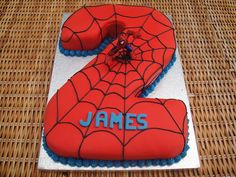 Possibility for Isaac's cake - only a number 3 obviously...