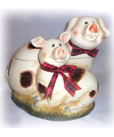 @Overstock - This Happy Piggy cookie jar is a fun and delightful way to serve you favorite recipes   This cookie jar is uniquely handcrafted and hand-painted   Jar features a three dimensional design that makes this collection very distinctivehttp://www.overstock.com/Home-Garden/Happy-Piggy-Large-Cookie-Jar/2870222/product.html?CID=214117 $46.99