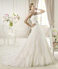 Pronovias te presenta el vestido de novia Uceda, Costura 2013. | Pronovias