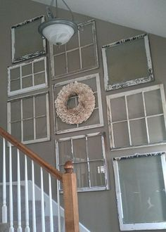 If you are DIY lovers, to reuse and recycle old windows is indeed an inspiring idea. Every time when you