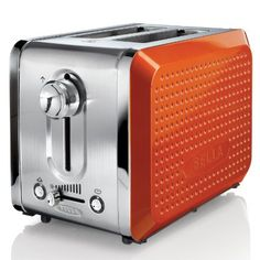 With its unique dot texture, gorgeous colors, and sleek design Bella Dots will bring life to your kitchen and make you smile. No longer must you toast your bread with that same old silver and black box. The Bella Dots 2 Slice Toaster is unique and co Toaster Ovens, Small Kitchen Appliances, Kitchen Gadgets, Home Appliances, Kitchen Tools, Kitchen Stuff, Vintage Appliances, Houses