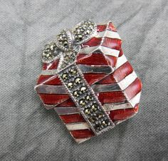 Wrap up your shopping with a sterling pin from Judith Jack - the perfect present for girls of all ages.