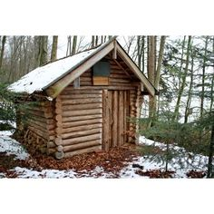 Want to experience the goodness of living in a country-style house and away from the city, and if you love hands-on, log cabin kits is the solution. Log Cabin Kits, Log Cabin Homes, Log Cabins, Cabin Design, House Design, Log Cabin Furniture, Log Home Designs, Off Grid Cabin, Wood Logs