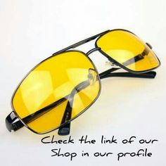 2016 High Quality Night Driving Vision Yellow Lens Sunglasses Driver Safety  Sun glasses Goggles type glass d56a5eebb71