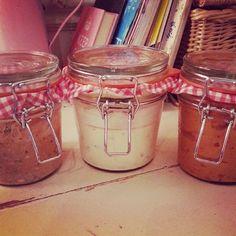 Slimming World Homemade Dips: Garlic & Herb, Houmous and Tomato & Basil Mayo 1 syn each