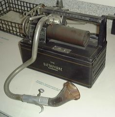 Dictaphone-the forerunner of the ubiquitous office dictation machine of the 1930-1970s
