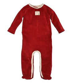Velour Coverall - Burts Bees Baby