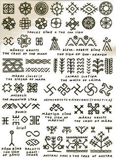 These patterns are cool - except for the swastikas, which have bad connotations here in the West. But everything else looks interesting.