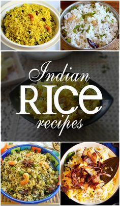 20 Popular Indian Rice Recipes Rice is a staple food of India and each and every state has its own way of preparing rice. But did you know that there are almost varieties of rice? And these varieties differ in color, size and texture.