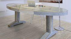 COM4069 Objectflor Expona Commercial Collection Vinyl Designbelag Beige Varnished Wood
