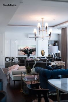 A Sophisticated Suite Highlights A Young Couple's Precious Rug Collection Young Couples, Highlights, Condo, Classy, Contemporary, Rugs, Table, Furniture, Collection