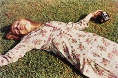 """Untitled, c.1975 (Marcia Hare in Memphis Tennessee) by William Eggleston. Marcia Hare, was one of Memphis's many legendary beauties from that debauched post-hippy period. She was Eggleston's girlfriend-cum-muse at the time. According to Eggleston's son Winston,  his father always refers to this picture as """"Marcia whacked out on Quaaludes""""."""