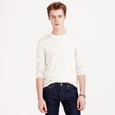J.Crew - Slim cotton-cashmere V-neck sweater
