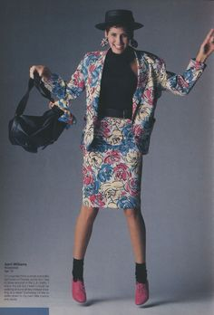 Esprit Ad. This makes me miss the 80s, even though neither I nor anybody I knew ever dressed like this.