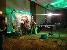 Host your next convention in the Cobb Energy Centre Ballroom #smite