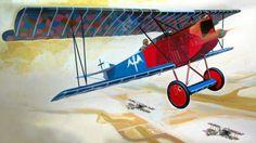 1918 Fokker D.VII Rudolf Berthold