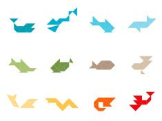Tangram Sea Life Set