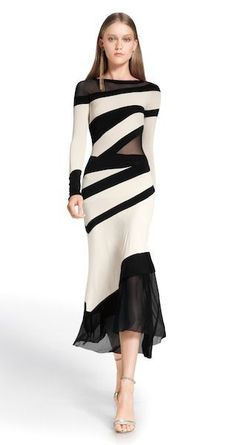 @roressclothes clothing ideas #women fashion dress Donna Karan Resort 2014: Long and Lean: