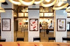 Atomicdust's award-winning restaurant branding and identity design elevated Porano Pasta, James Beard Winner Gerard Craft's fast casual Italian concept.