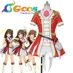 CGCOS Free Shipping Cosplay Costume The Idolmaster Cinderella Girls Uzuki Shimamura Uniform New in Stock Halloween Christmas-in Anime Costumes from Novelty & Special Use on Aliexpress.com | Alibaba Group