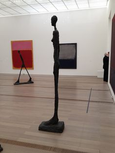 Rothko room at Beyeler foundation. And some awesome Giacometti sculptures.