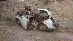 Fiat 500, Or, Volkswagen, Wheels, Vehicles, Pictures, Cars, Motorbikes, Rust