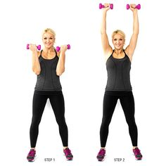 Hight Intensity Interval Workout with Weights - At-home dumbbell HIIT workout - Fitness Little Back And Shoulder Workout, Fitness Tips, Fitness Motivation, Skinny Mom, Hiit, Workout Videos, Fitness Inspiration, Fit Women, Sculpting