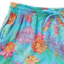 Girls' Tropical Loose Fit Shorts