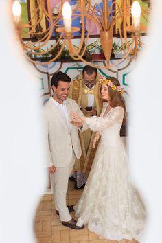 Marina Ruy Barbosa mostra detalhes do vestido do seu casamento religioso a323ef6f781