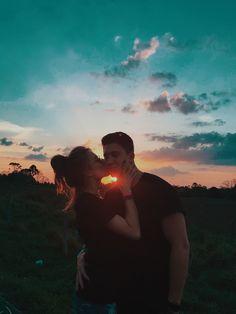 #couple #couplegoals #goals #sunset #kiss #love