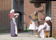 medieval Archeon by RvO, via Flickr Spinning Yarn, A Whole New World, Middle Ages, Archaeology, Medieval, History, Period, Van, Camping