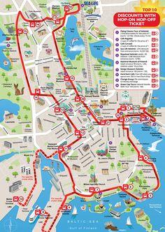 Helsinki Hop-On Hop-Off Tour - Red Buses