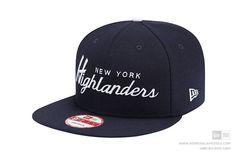 New Era 9Fifty Old Script New York Highlanders Baseball Cap Snapback Hat #NewEra #BaseballCap #NewYorkHighlanders