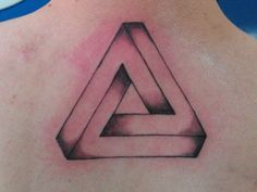 Here's Why Triangle Tattoos Are the Best Tattoos - Penrose Triangle Tatoo | Guff