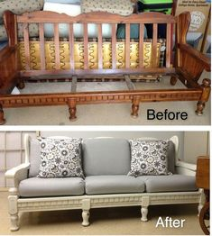 66 ideas for vintage furniture makeover upholstery projects Recycled Furniture, Refurbished Furniture, Furniture Projects, Vintage Furniture, Painted Furniture, Diy Furniture, Furniture Design, Automotive Furniture, Automotive Decor