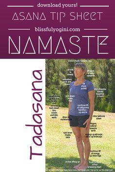 Find more cool resources on blissfulyogini.com ❤️ ~ aloha & namaste #yoga #asanatipsheet #blissfulyoginis