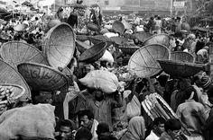 BANGLADESH. Dhaka. The capital's main vegetable market at dawn.