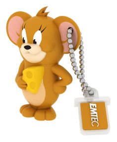 Shop EMTEC Tom and Jerry USB Flash Drive Brown at Best Buy. Find low everyday prices and buy online for delivery or in-store pick-up. Usb Drive, Usb Flash Drive, Rubber Material, Tom And Jerry, Retail Packaging, Toys For Girls, Linux, Cool Things To Buy, Toms