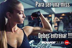 Para ser una Miss !! Debes entrenar  @powerclubpanama #YoEntrenoEnPowerClub  Y Tu ? Cuantas Calorias Quemaste Hoy ?