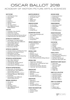 picture regarding Golden Globe Printable Ballots named 2016 Golden Planet Awards printable ballot - The Gold Knight