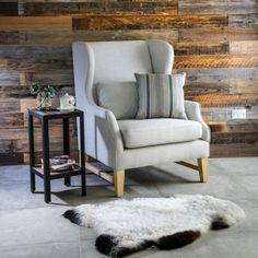 Morgan Wingback Chair (815W x 830D x 1080H mm) RRP $756