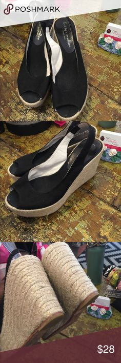 Bettye muller Great condition. 4 inches high bettye mullet Shoes