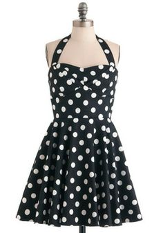 Traveling Cupcake Truck Dress in Black, #ModCloth    First impulsive purchase in a while...I'm a sucker for vintage styles.