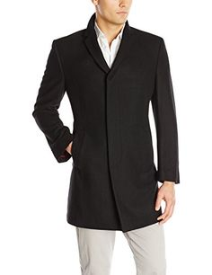 b4cb629dbce2b Kenneth Cole Men s Elan Wool Top Coat