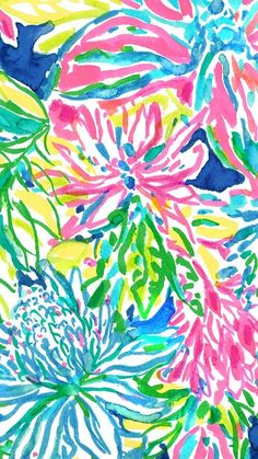 Lilly Pulitzer print: Traveler's Palm